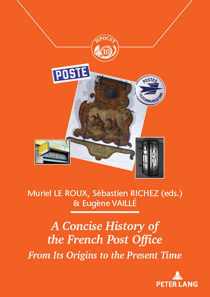 Couverture de « A Concise History of the French Post Office »