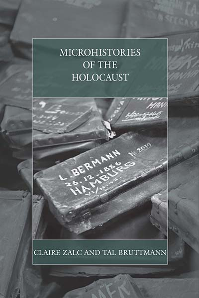 "Couverture de l'ouvrage ""Microhistories of the Holocaust"""